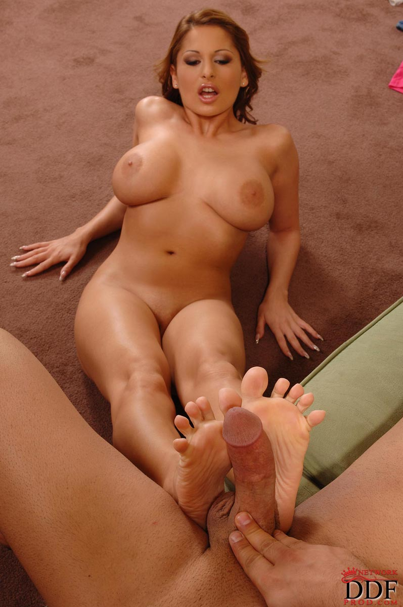 Something is. Sexy brunette porn star feet suggest