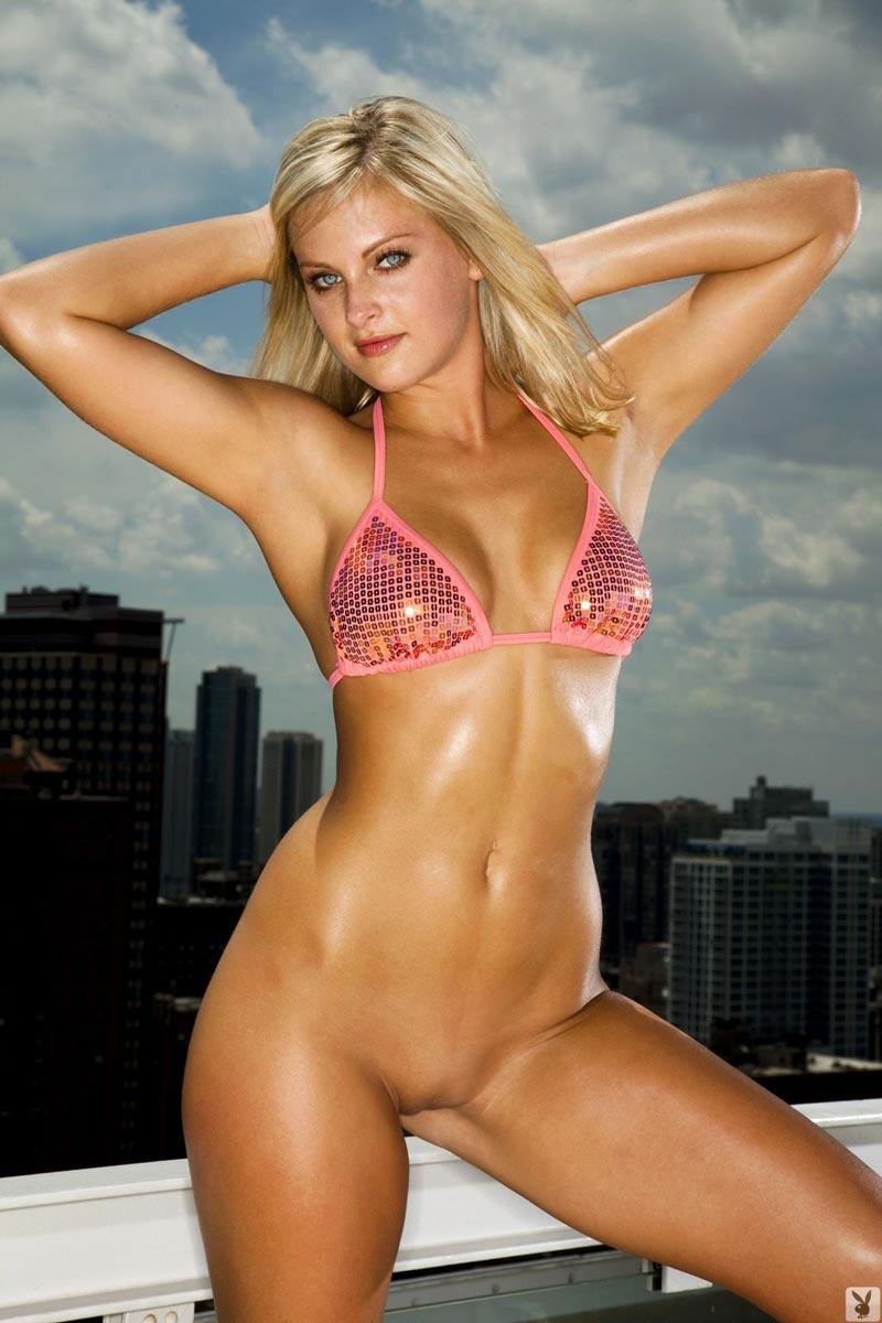 Paget brewster bikini